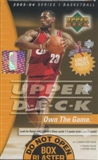 2003/04 Upper Deck Basketball Blaster 8 Pack Box