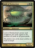 Magic the Gathering Alara Reborn Single Lord of Extinction FOIL