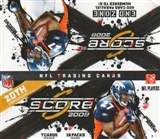 2009 Score Football 36-Pack Box