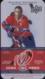 2008/09 Upper Deck Montreal Canadiens Centennial  Hockey Hobby Tin (Box)