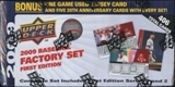 2009 Upper Deck First Edition Baseball Factory Set