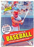 1980 Topps Baseball Wax Box