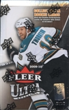 2009/10 Upper Deck Fleer Ultra Hockey Hobby Box