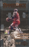 1996/97 Upper Deck Series 2 Basketball Retail 28-Pack Box