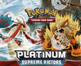 Pokemon Platinum Supreme Victors Theme Deck Box