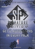 2009/10 Upper Deck SP Signature Edition Basketball Hobby Box