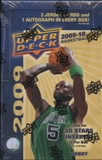 2009/10 Upper Deck Basketball Hobby Box