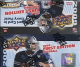2009 Upper Deck First Edition Football 36-Pack Box