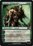Magic the Gathering 2010 Single Garruk Wildspeaker - SLIGHT PLAY (SP)
