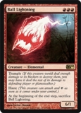 Magic the Gathering 2010 Single Ball Lightning UNPLAYED (NM/MT)