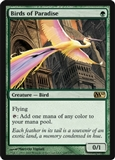 Magic the Gathering 2010 Single Birds of Paradise - NEAR MINT (NM)