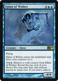 Magic the Gathering 2010 Single Djinn of Wishes Foil
