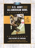 2009 Razor U.S. Army All-American Bowl Football Hobby Set