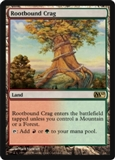 Magic the Gathering 2010 Single Rootbound Crag UNPLAYED (NM/MT)