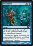 Magic the Gathering 2010 Single Traumatize - NEAR MINT (NM)
