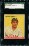 1933 Goudey Baseball #27 George Connally SGC 84 (NM 7) *9015