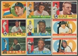 1960 Topps Baseball Partial Set (NM)