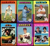 1975 Topps Baseball Complete Set (NM/NM-MT)