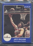 1983/84 Star Co. Basketball Bullets Bagged Set