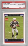 2006 Topps Football #373 Laurence Maroney RC PSA 10 Gem Mint