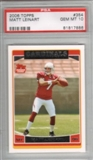 2006 Topps Football #354 Matt Leinart Rookie Card PSA 10 Gem Mint