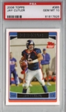 2006 Topps Football #365 Jay Cutler Rookie Card PSA 10