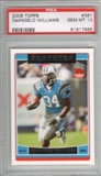 2006 Topps Football #361 DeAngelo Williams RC PSA 10 Gem Mint