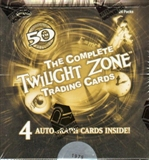 Twilight Zone 50th Anniversary Trading Cards Box (Rittenhouse 2009)