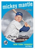 2009 Topps Heritage 1959 National Convention VIP #573A Mickey Mantle Facing Left