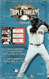 2009 Topps Triple Threads Baseball Hobby Box