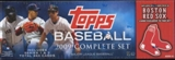 2009 Topps Factory Set Baseball (Box) (Boston Red Sox)
