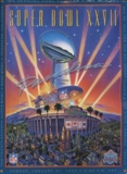 Super Bowl XXVII Game Program Memorabilia (Dallas vs. Buffalo)