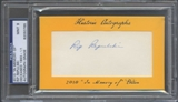 2010 Historic Autograph Baseball Rip Repulski Cut Auto #1/1