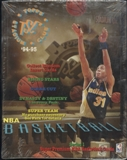 1994/95 Topps Stadium Club Series 1 Basketball Rack Box