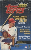 2000 Topps Series 1 Baseball Retail Box