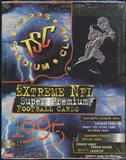 1995 Topps Stadium Club Series 1 Football Rack Box