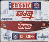 2009 Topps Kickoff Football Box