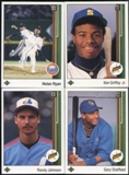 1989 Upper Deck Baseball Complete Set (NM-MT)