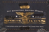 2009 Razor Sports Icons Update Hobby Box
