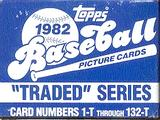 1982 Topps Traded & Rookies Baseball Factory Set