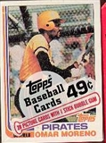 1982 Topps Baseball Cello Pack