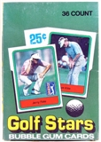 1982 Donruss Golf Wax Box