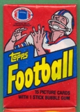 1982 Topps Football Wax Pack