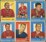 1959/60 Topps Hockey Set (EX-)