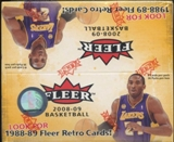 2008/09 Fleer Basketball 36-Pack Box