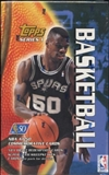 1996/97 Topps Series 1 Basketball Retail Box