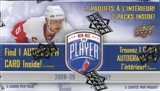 2008/09 Upper Deck Be A Player Hockey 2-Pack Box (1 Autograph!!)