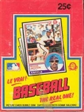 1983 O-Pee-Chee Baseball Wax Box