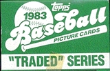 1983 Topps Traded & Rookies Baseball Factory Set