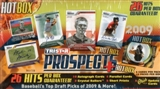 2009 TriStar Prospects Plus Hot Box Baseball Hobby Box